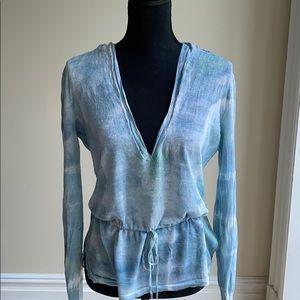 Lightweight Summer Tie-Dye Theory Knit (size M)